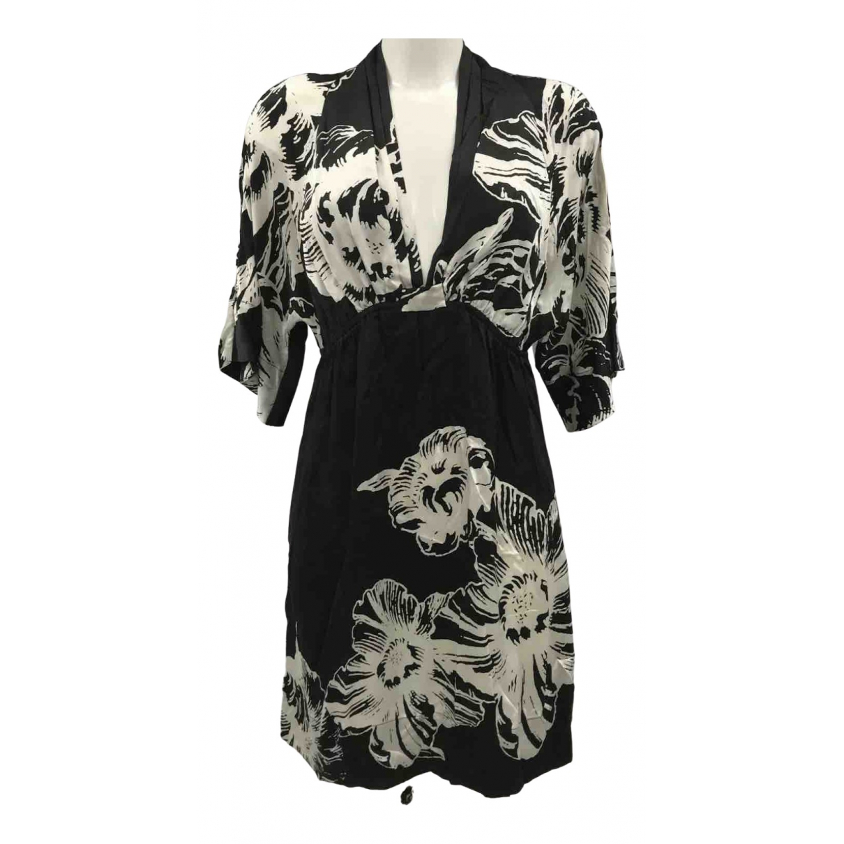 Joseph N Black Silk dress for Women M International