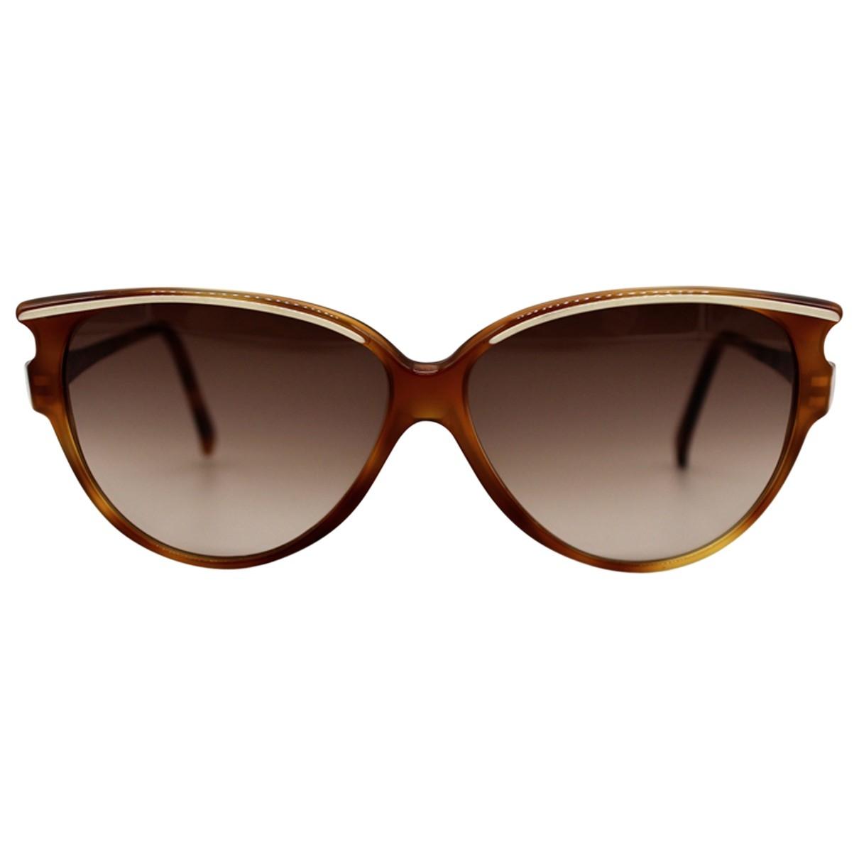 Jean Patou \N Sonnenbrillen in  Braun Kunststoff