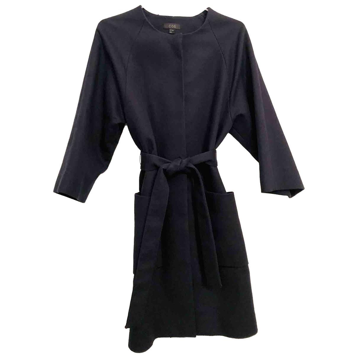 Cos \N Blue Cotton coat for Women 34 FR