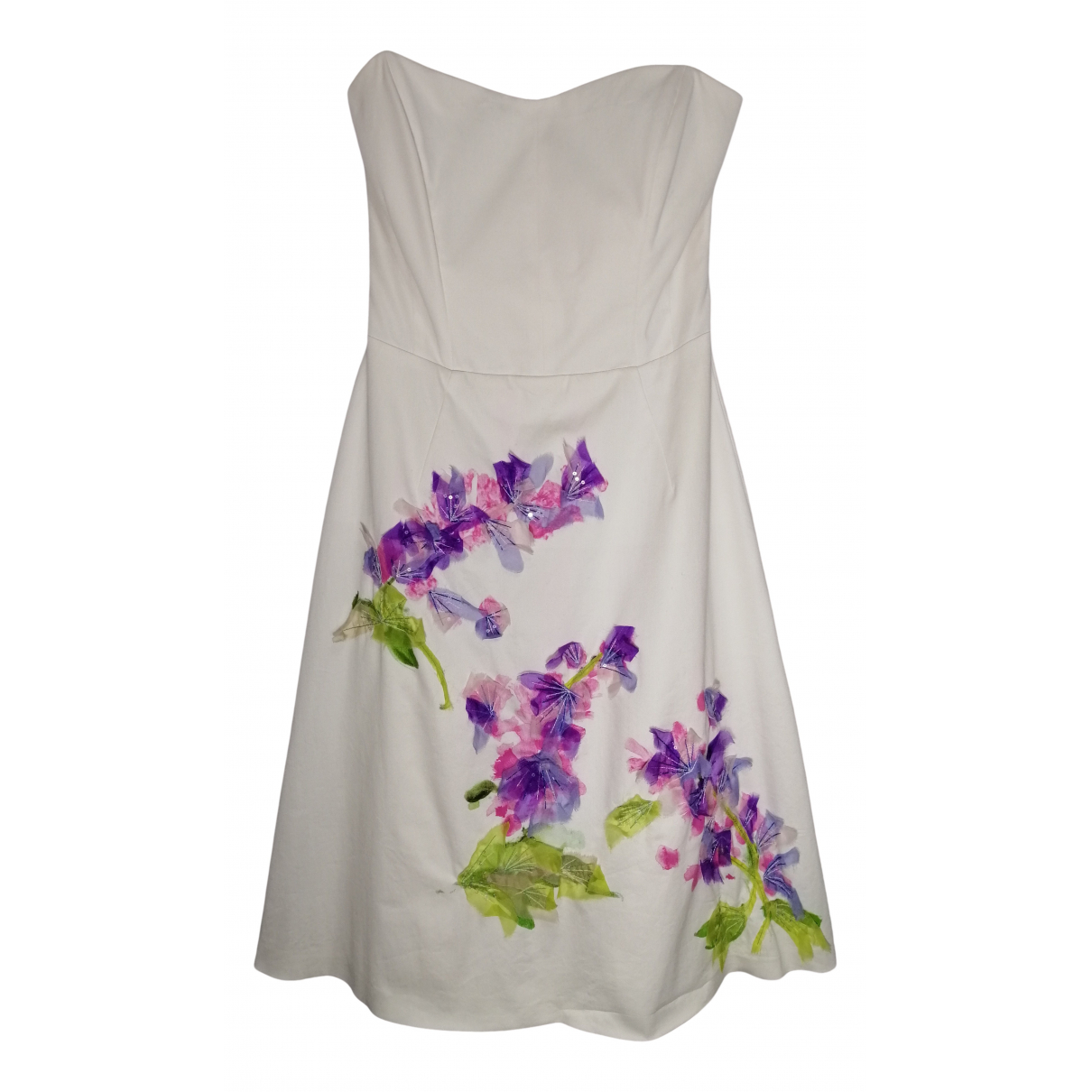 Moschino Cheap And Chic N White Cotton dress for Women 40 IT
