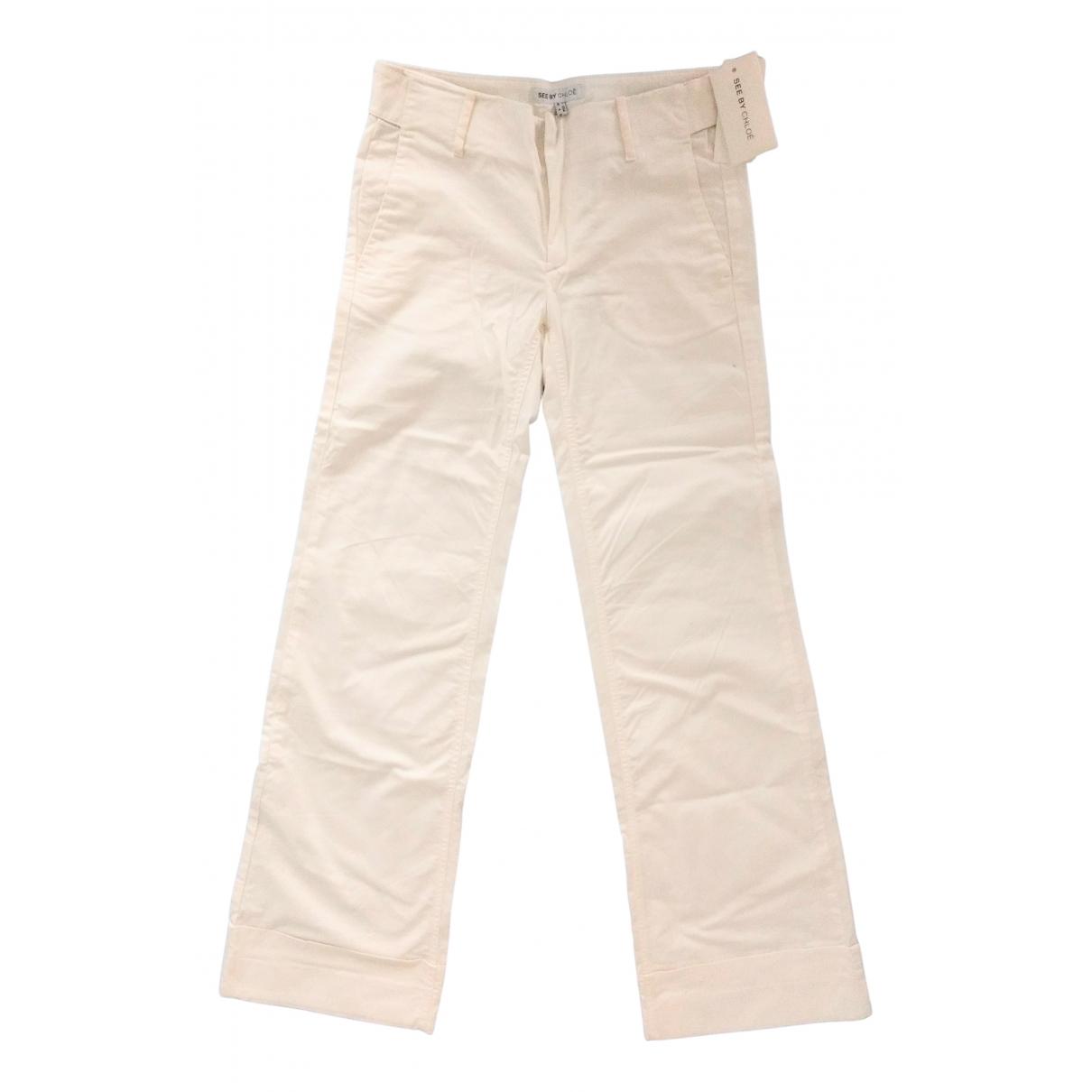 Pantalon recto Chloe