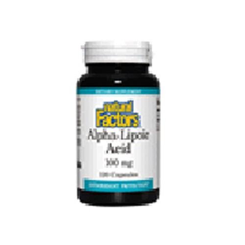 AlphaLipoic Acid 120 Caps by Natural Factors