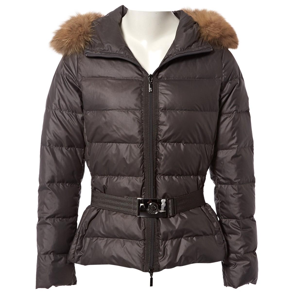 Moncler \N Grey coat for Women 1 0-5
