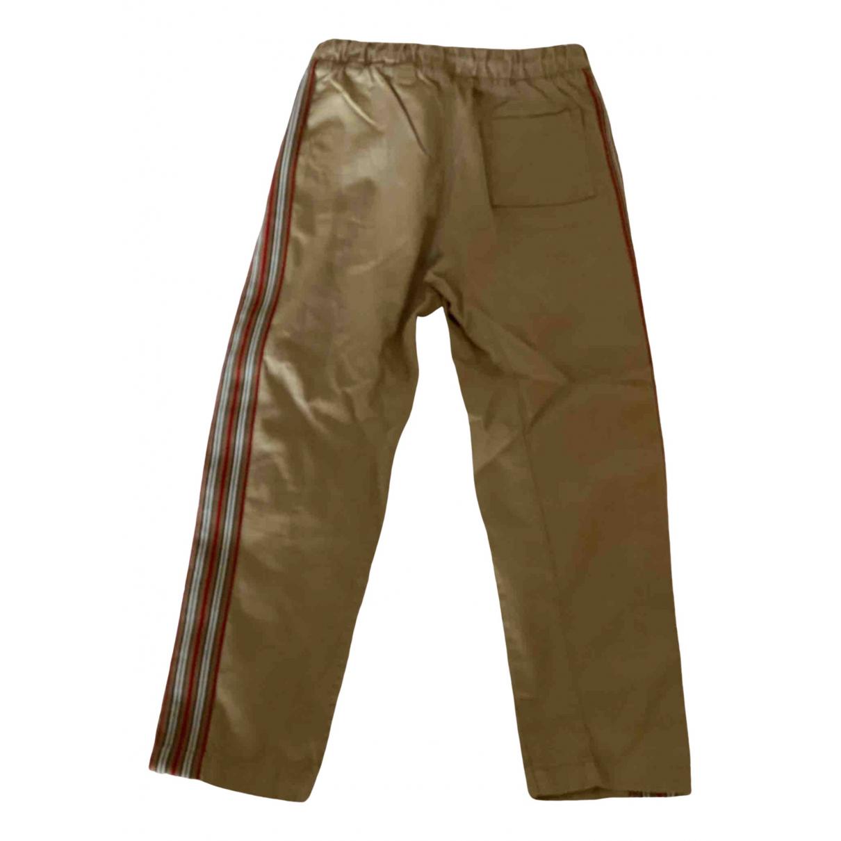 Burberry - Pantalon   pour enfant en coton - kaki