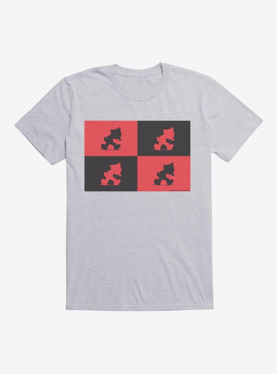 Felix The Cat Outline Montage T-Shirt