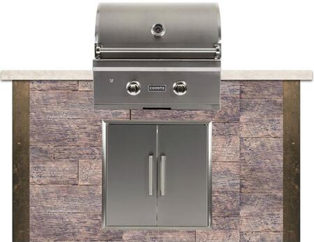 RTAC-G5WB 5 ft. Grill Island with Coyote C-Series Grill  26