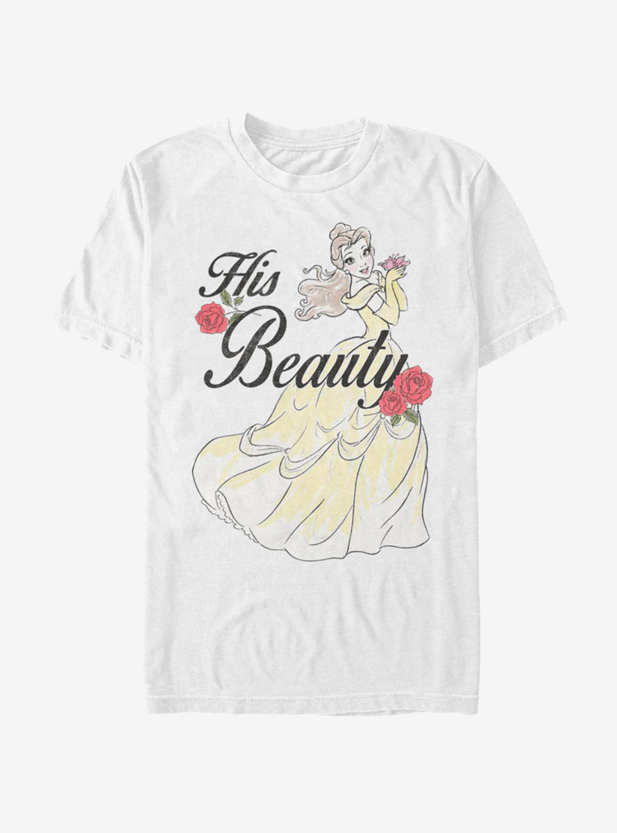Disney Beauty And The Beast His Beauty T-Shirt