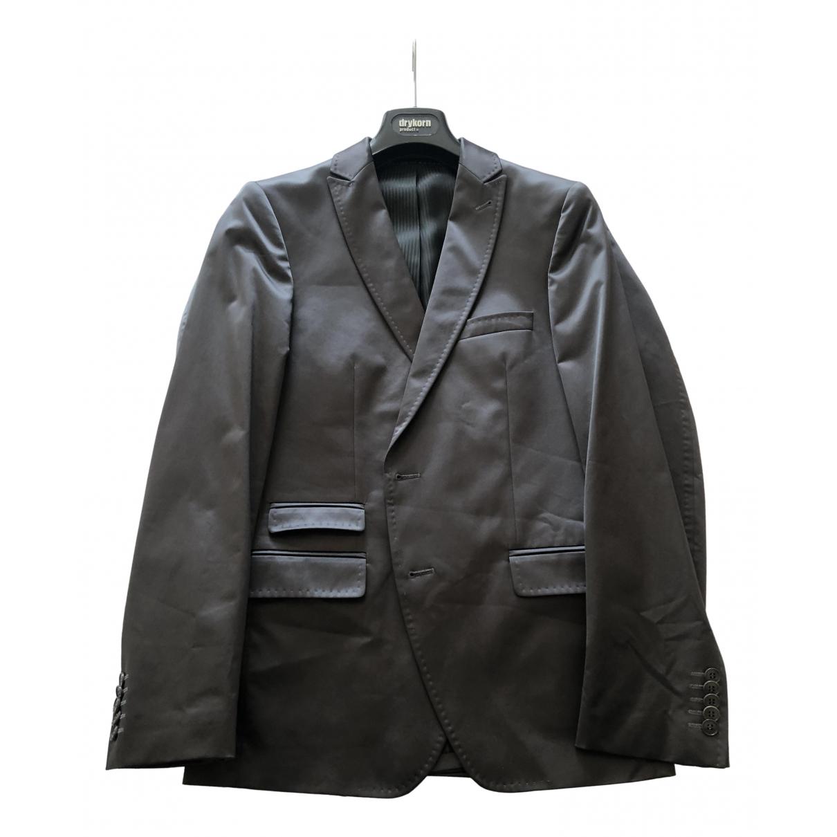 Drykorn - Vestes.Blousons   pour homme en coton - gris