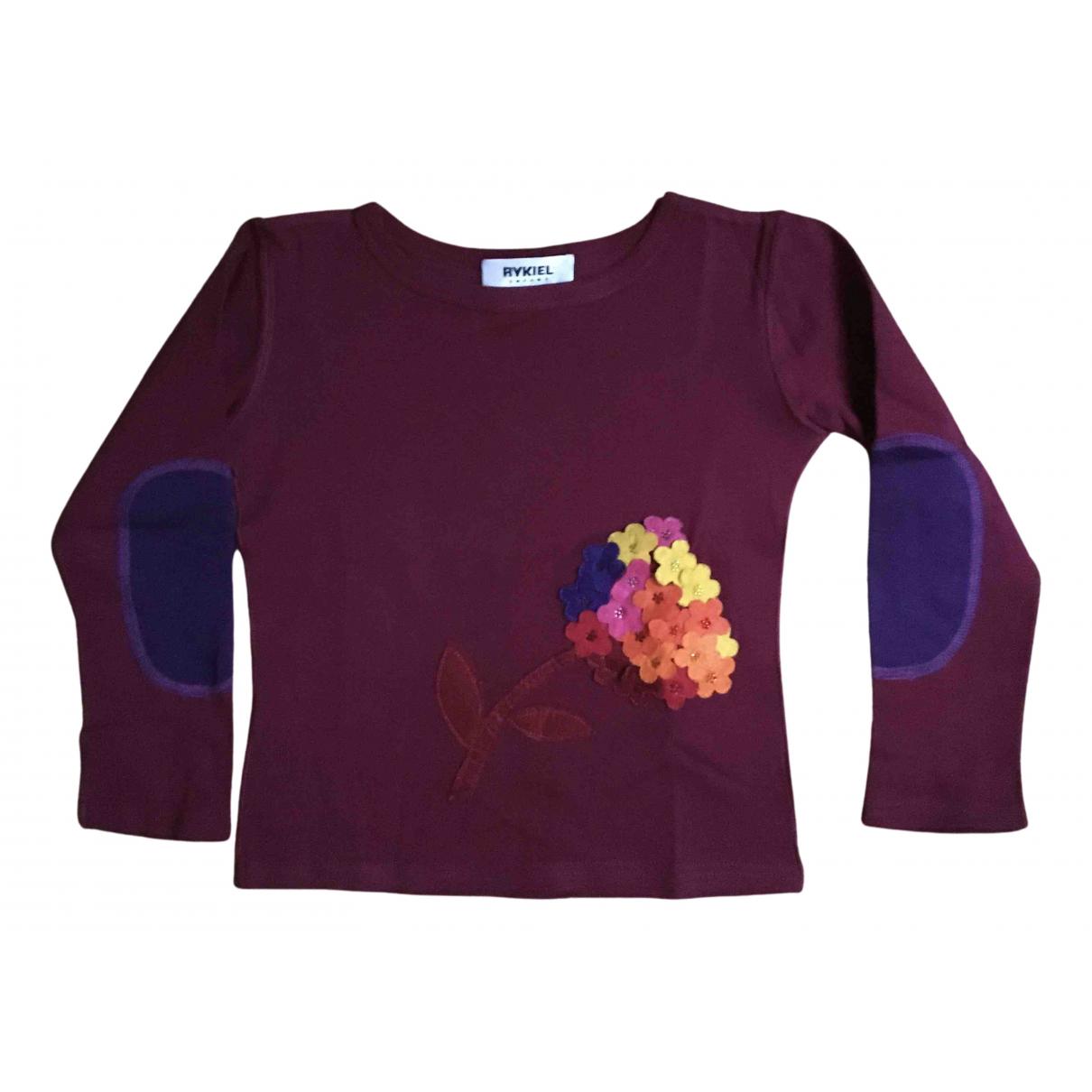 Sonia Rykiel N Burgundy Cotton Knitwear for Kids 6 years - up to 114cm FR