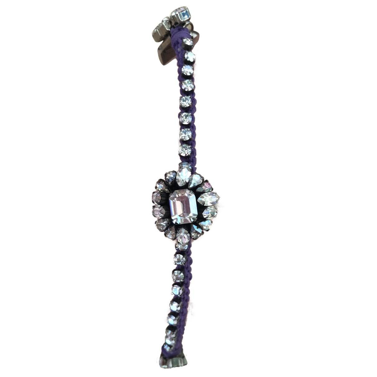 Shourouk - Bracelet   pour femme en cristal - violet