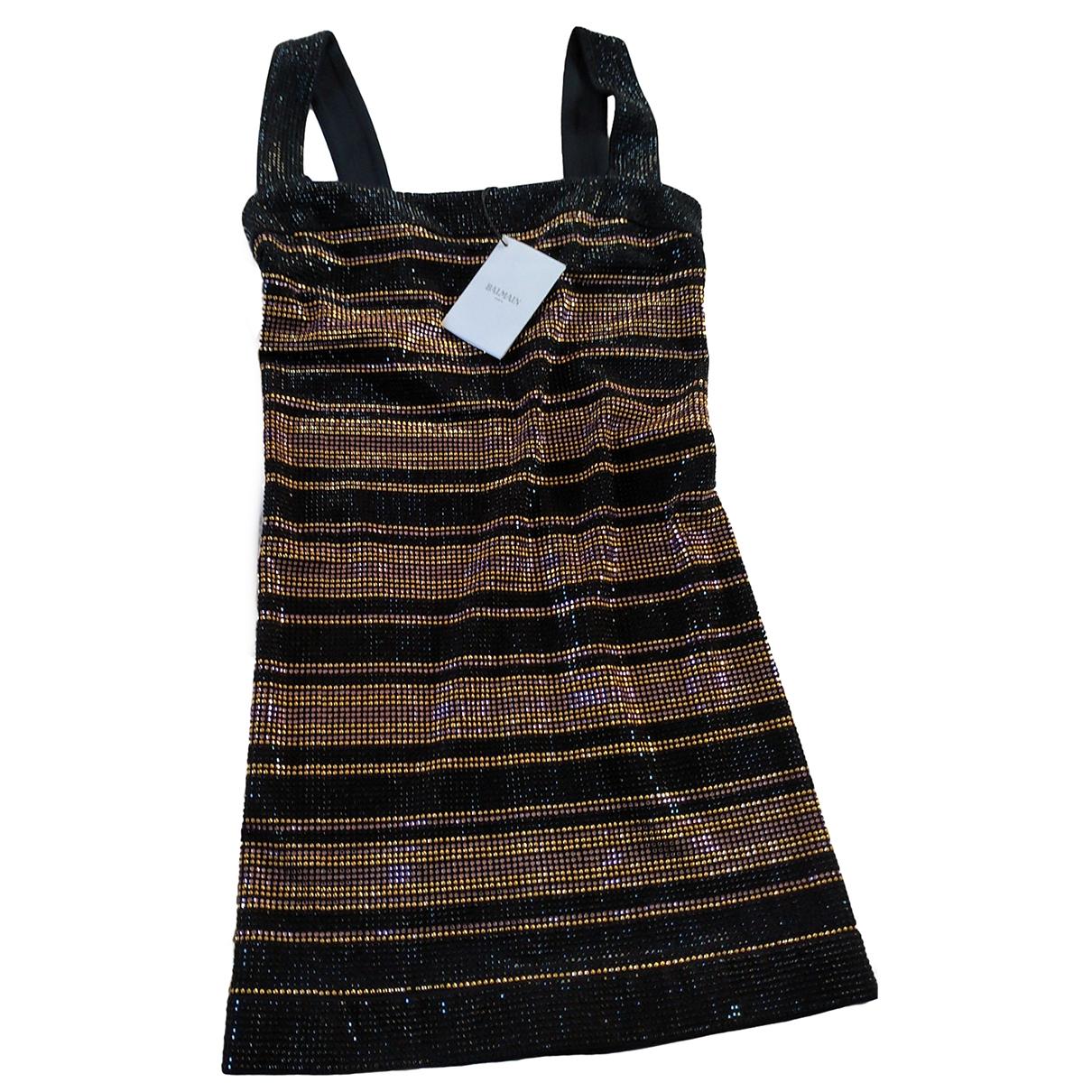 Mini vestido Balmain