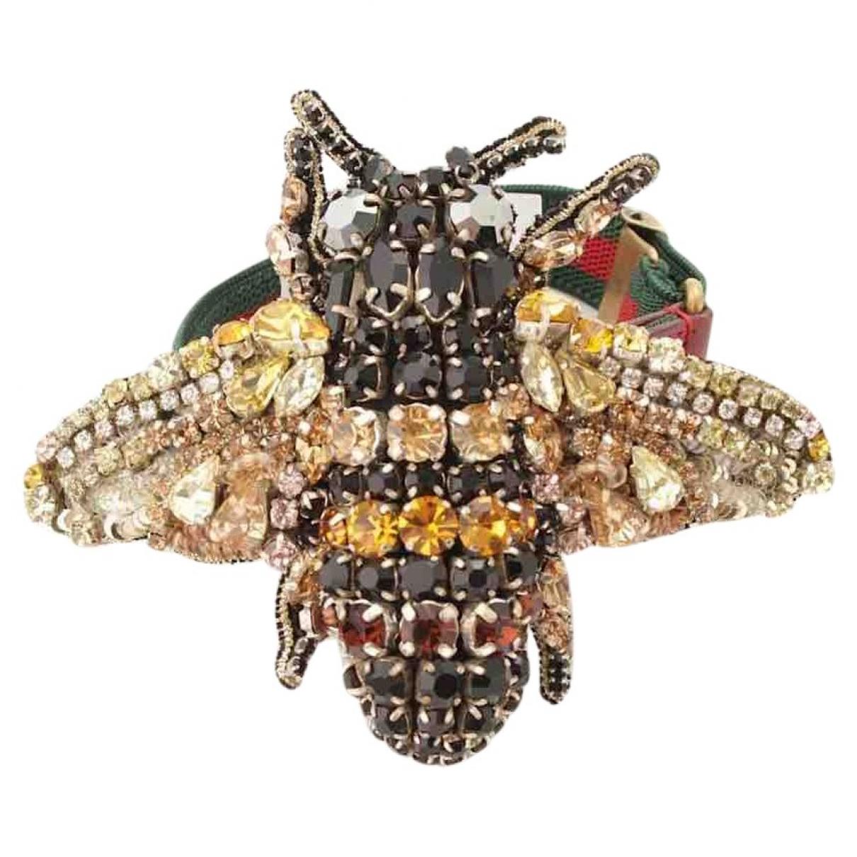 Gucci - Bracelet   pour femme en metal - metallise