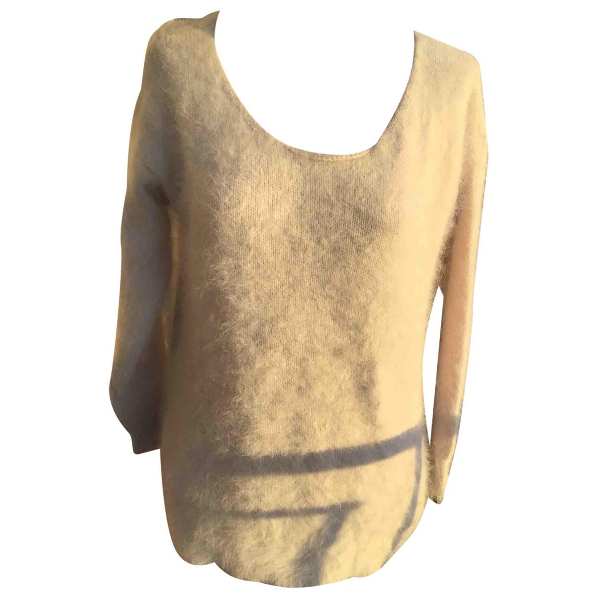 Roberto Collina \N Ecru Wool Knitwear for Women 36 FR
