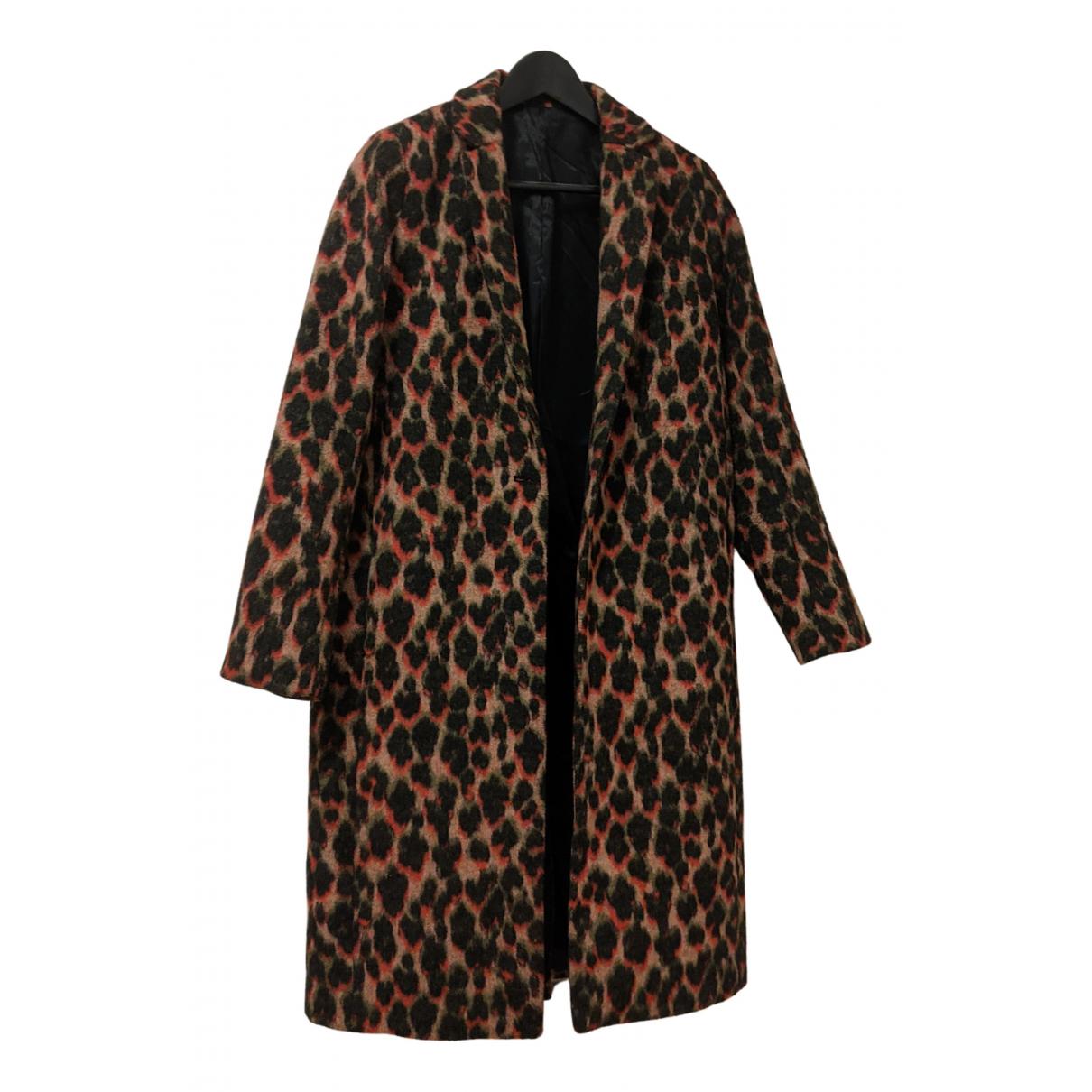 Samsoe & Samsoe N Multicolour Wool coat for Women XS International