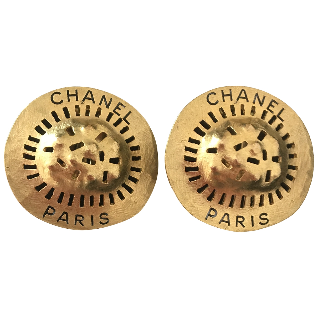 Chanel CHANEL Gold Metal Earrings for Women \N