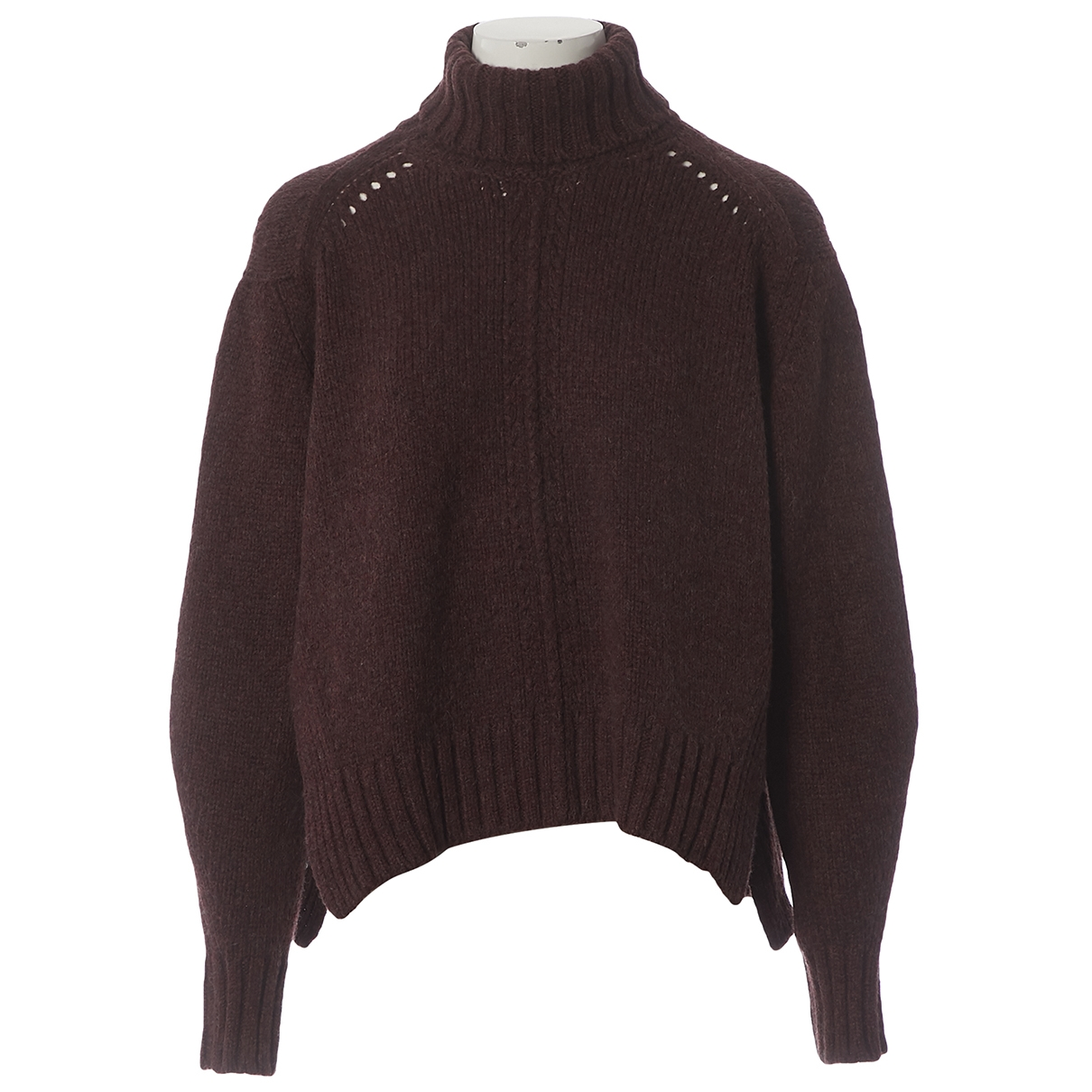 Isabel Marant \N Pullover in  Bordeauxrot Wolle