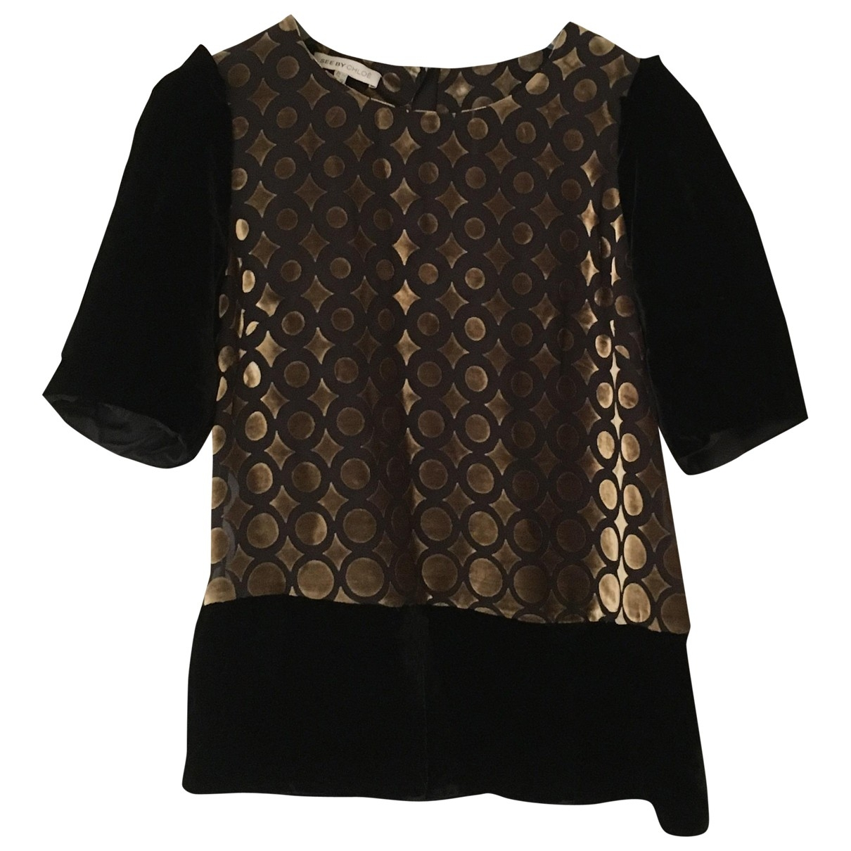 See By Chloé \N Black  top for Women 10 UK