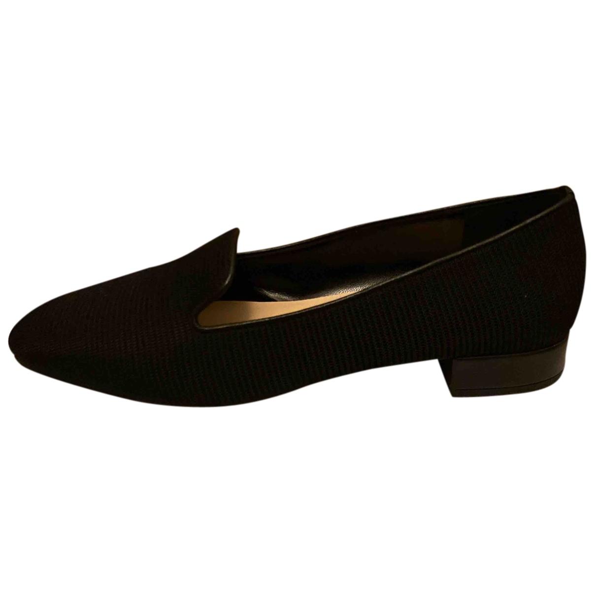 Dior - Derbies   pour femme en toile - noir