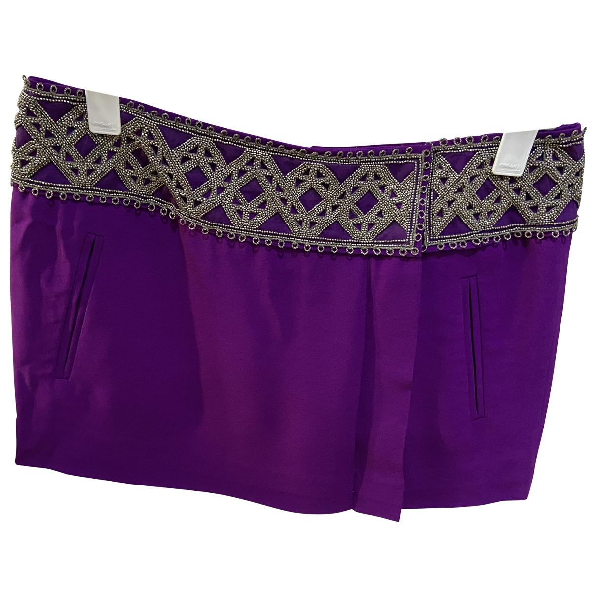 Isabel Marant \N Purple Silk skirt for Women 38 FR