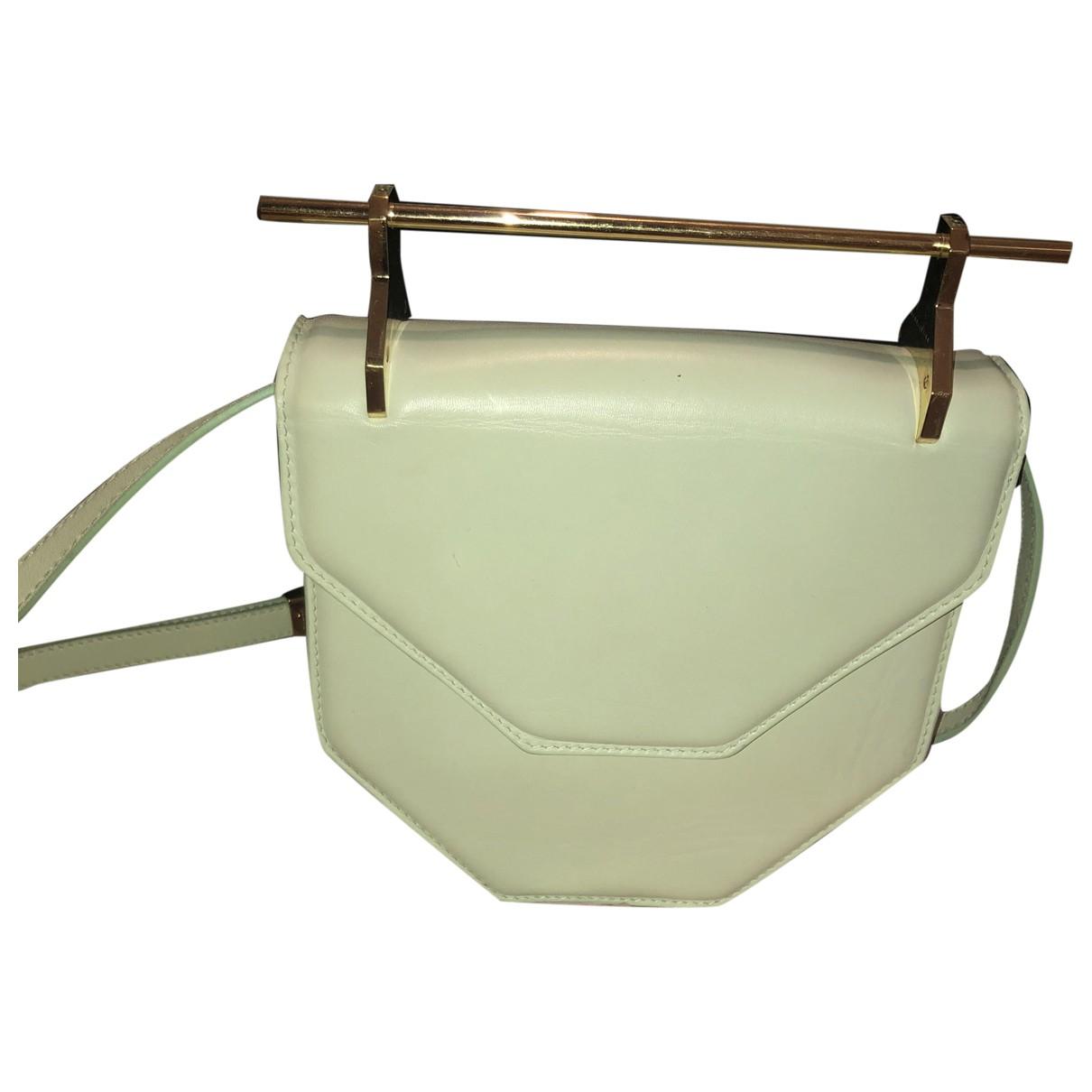 M2malletier \N Green Leather handbag for Women \N