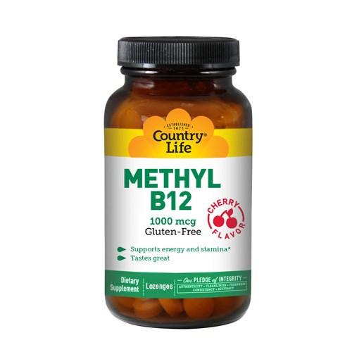 Methyl B-12 60 Loz by Country Life