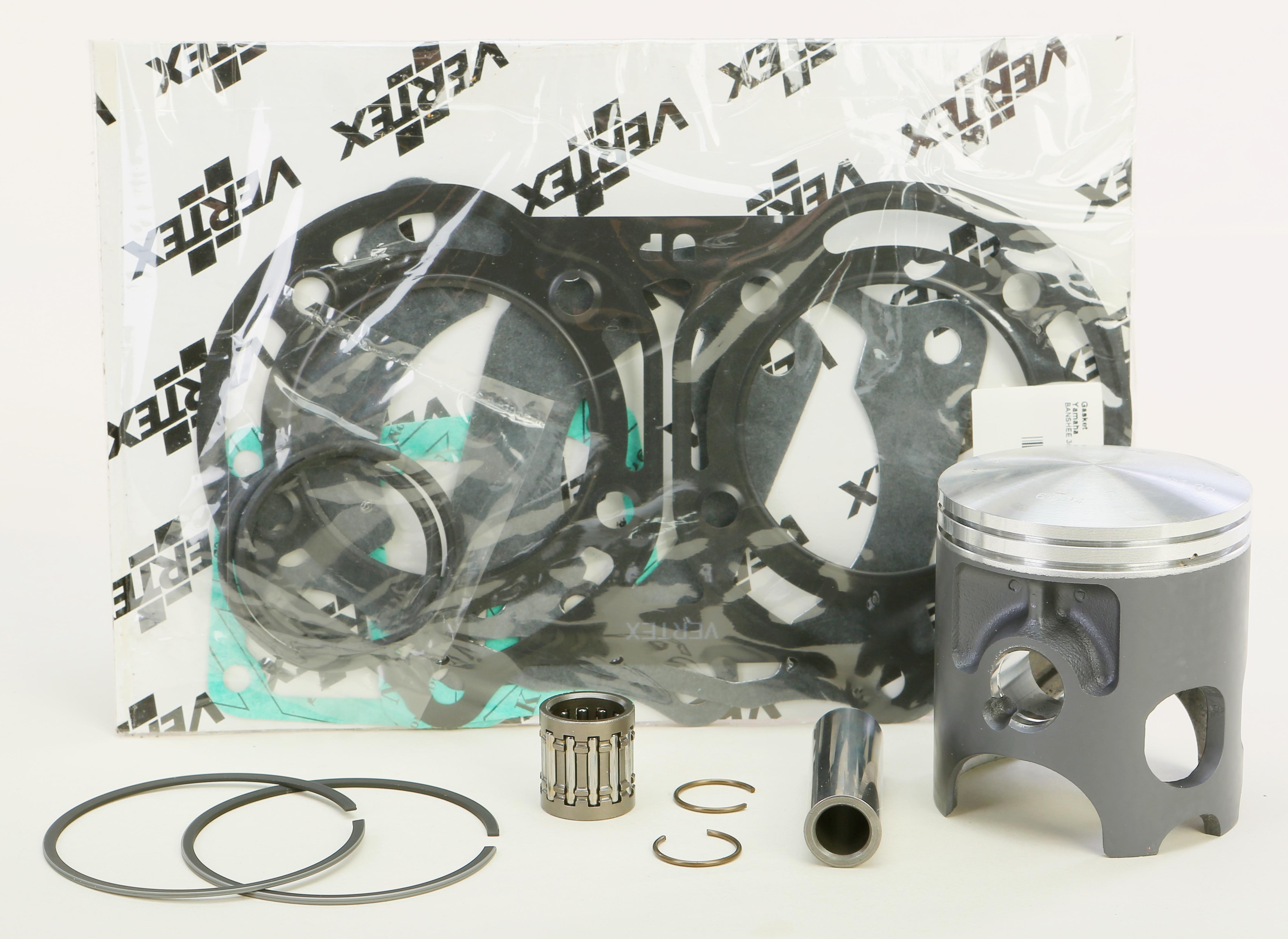 Vertex Top End Piston Kit (64.950mm | STD) Yamaha YFZ 350 Banshee 1987-2006