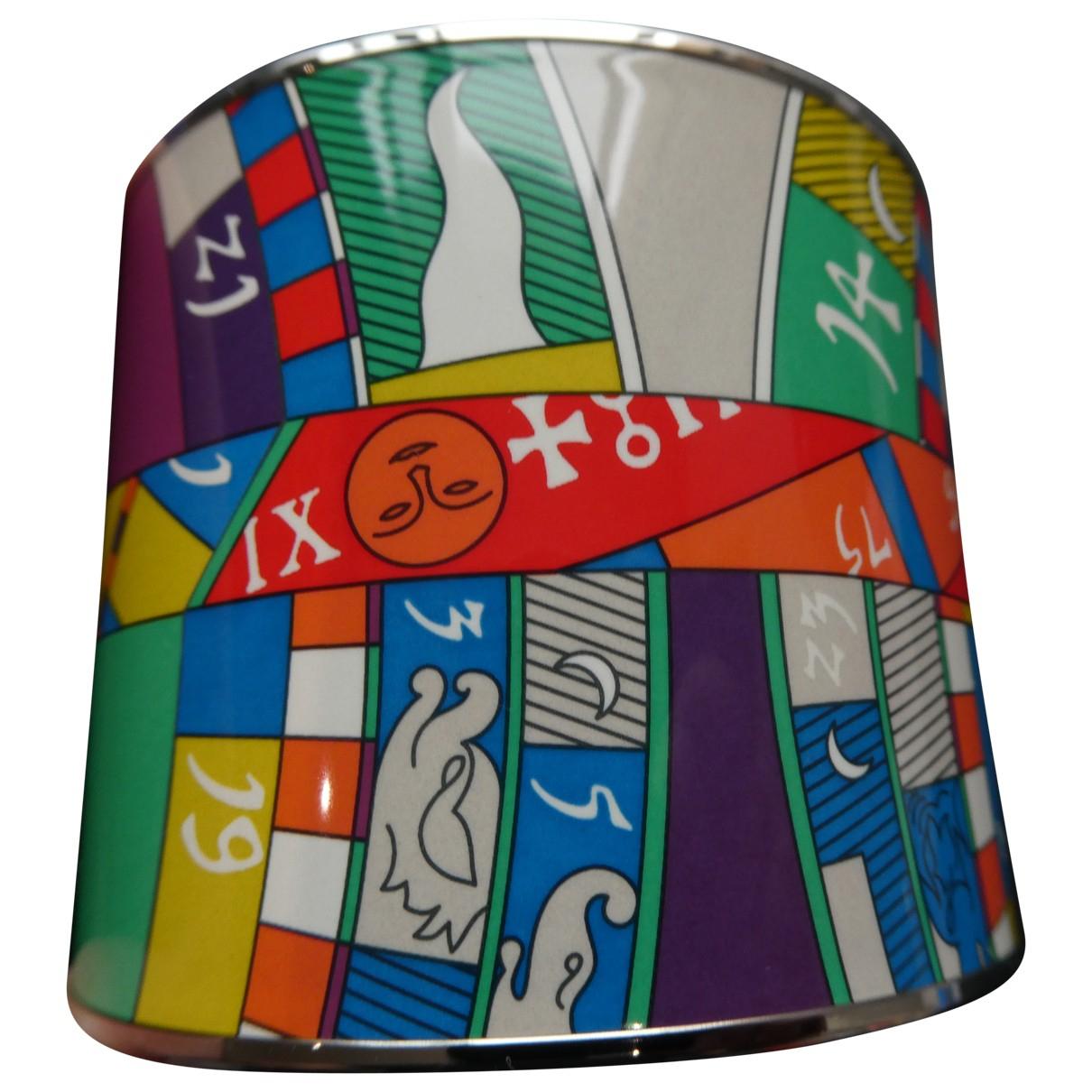 Hermes - Bracelet   pour femme en metal - multicolore