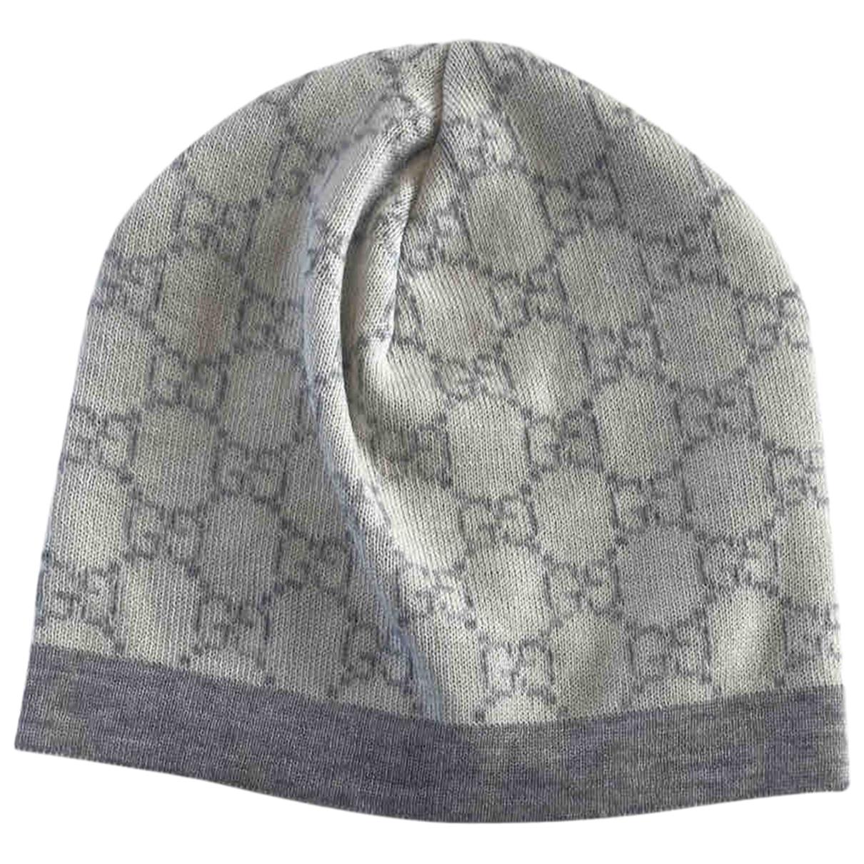 Gucci \N Hut, Muetzen, Handschuhe in  Ecru Wolle