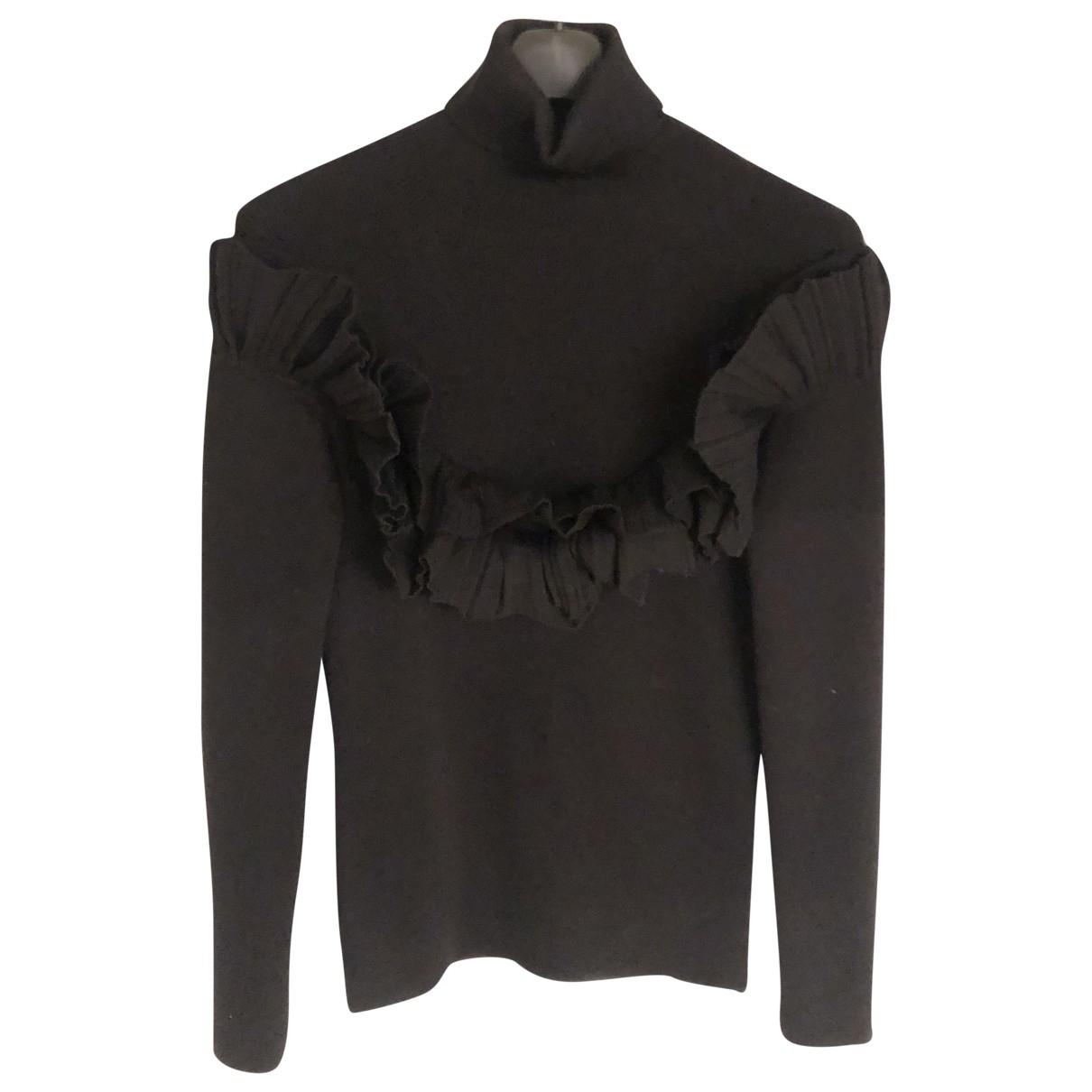 Dior \N Pullover in  Schwarz Wolle
