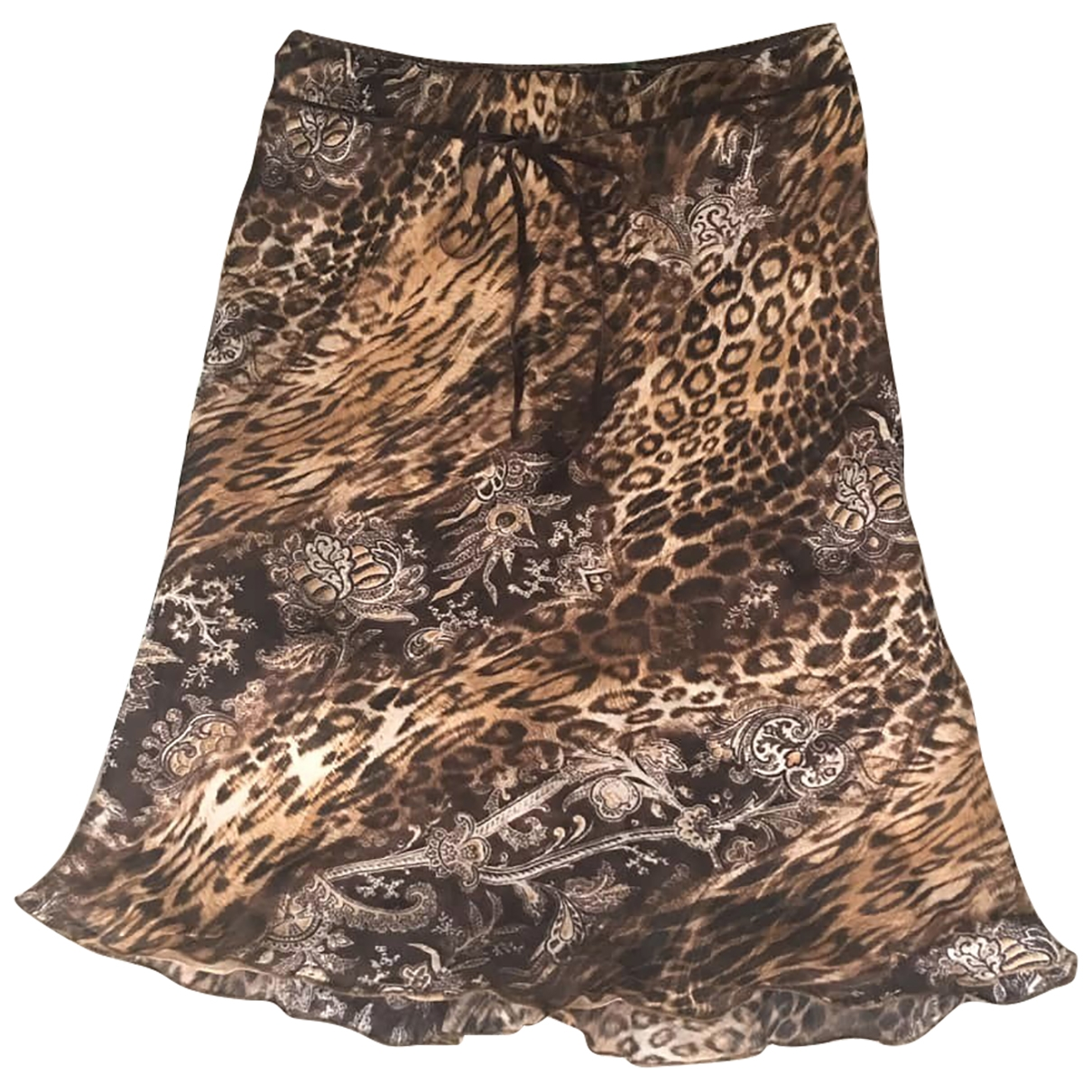 Non Signé / Unsigned \N Brown skirt for Women L International