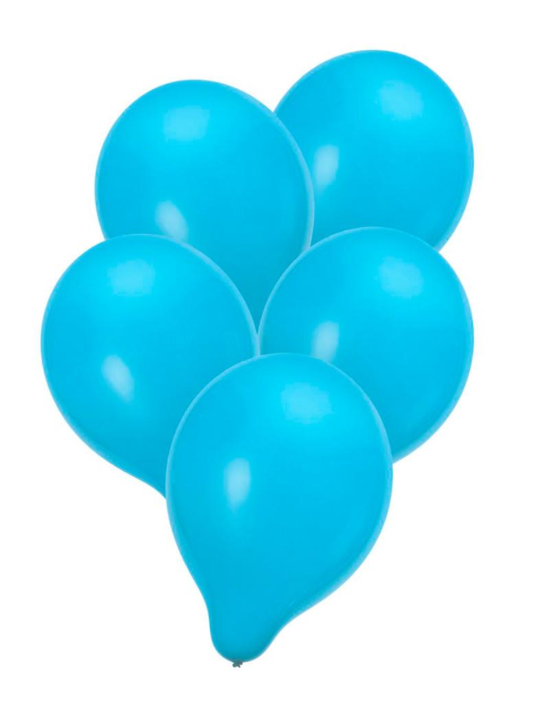 Luftballons blau 50 Stk.