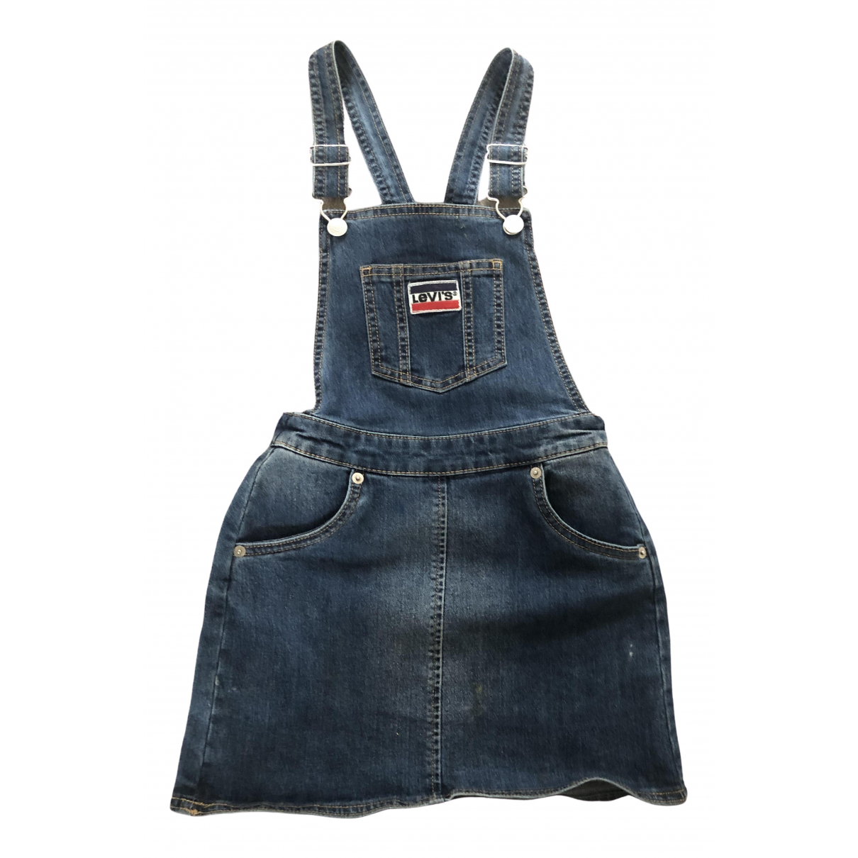 Levis \N Kleid in  Blau Denim - Jeans