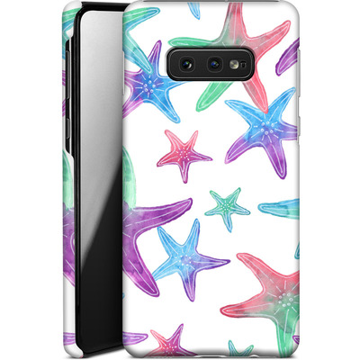 Samsung Galaxy S10e Smartphone Huelle - Starfish Print von Becky Starsmore