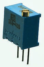 Bourns 200kΩ, Through Hole Trimmer Potentiometer 0.5W Top Adjust , 3299