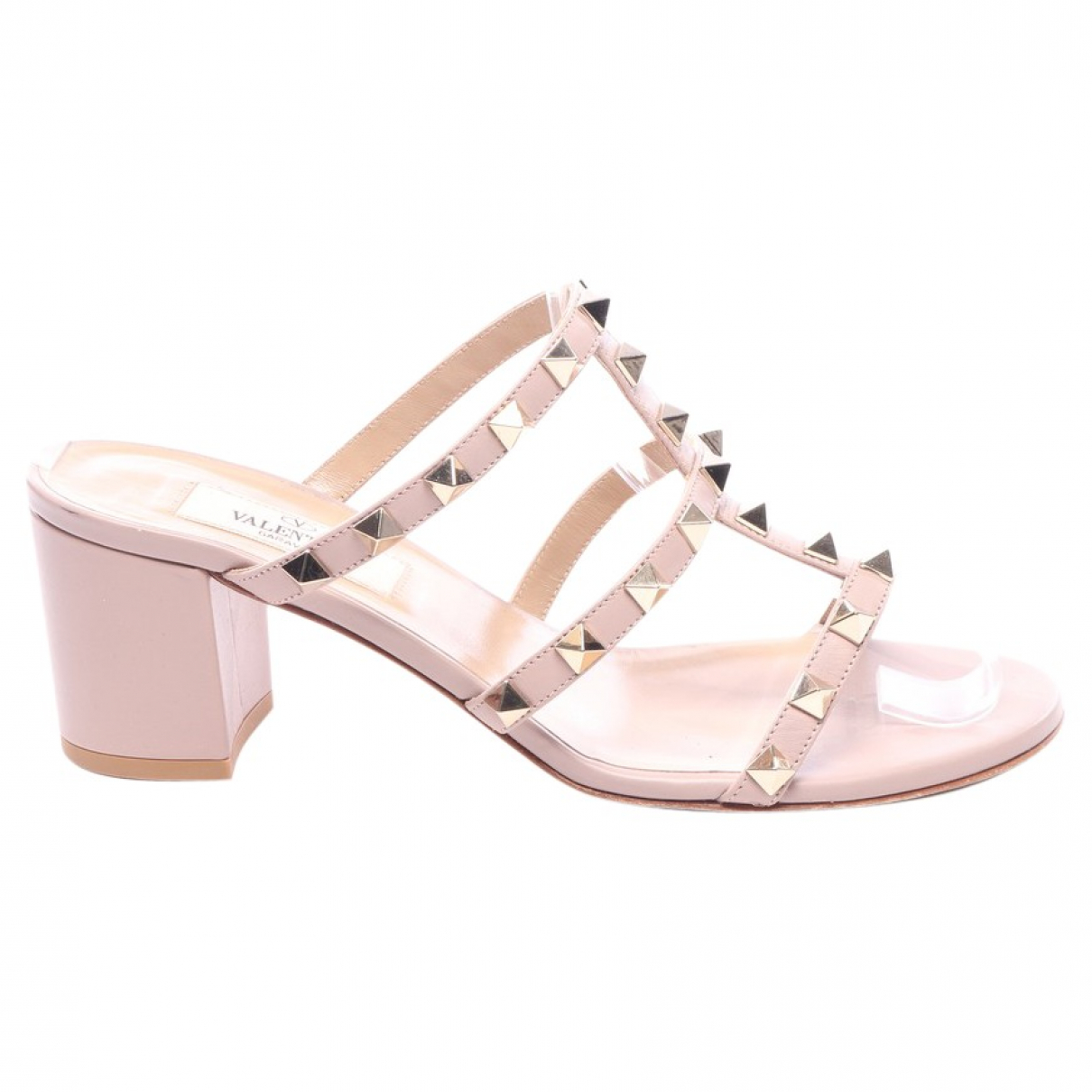 Valentino Garavani \N Brown Leather Sandals for Women 36.5 EU