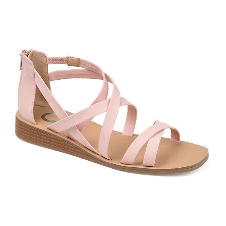 Journee Collection Womens Lanza Slip-On Shoe, 7 1/2 Medium, Pink
