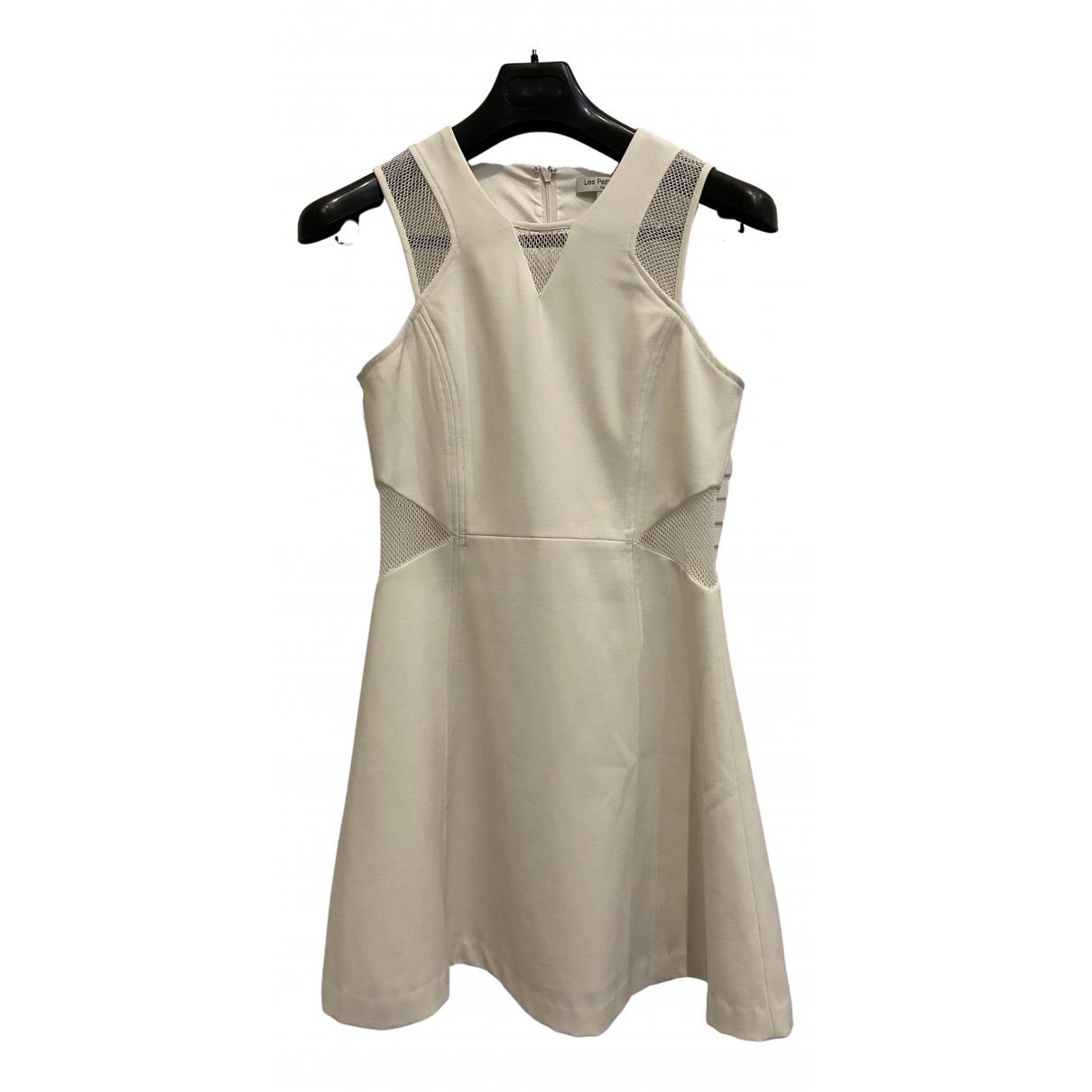 Les Petites \N Kleid in  Weiss Polyester