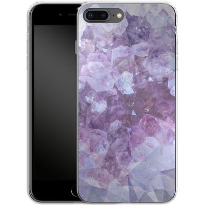 Apple iPhone 8 Plus Silikon Handyhuelle - Light Crystals von Emanuela Carratoni