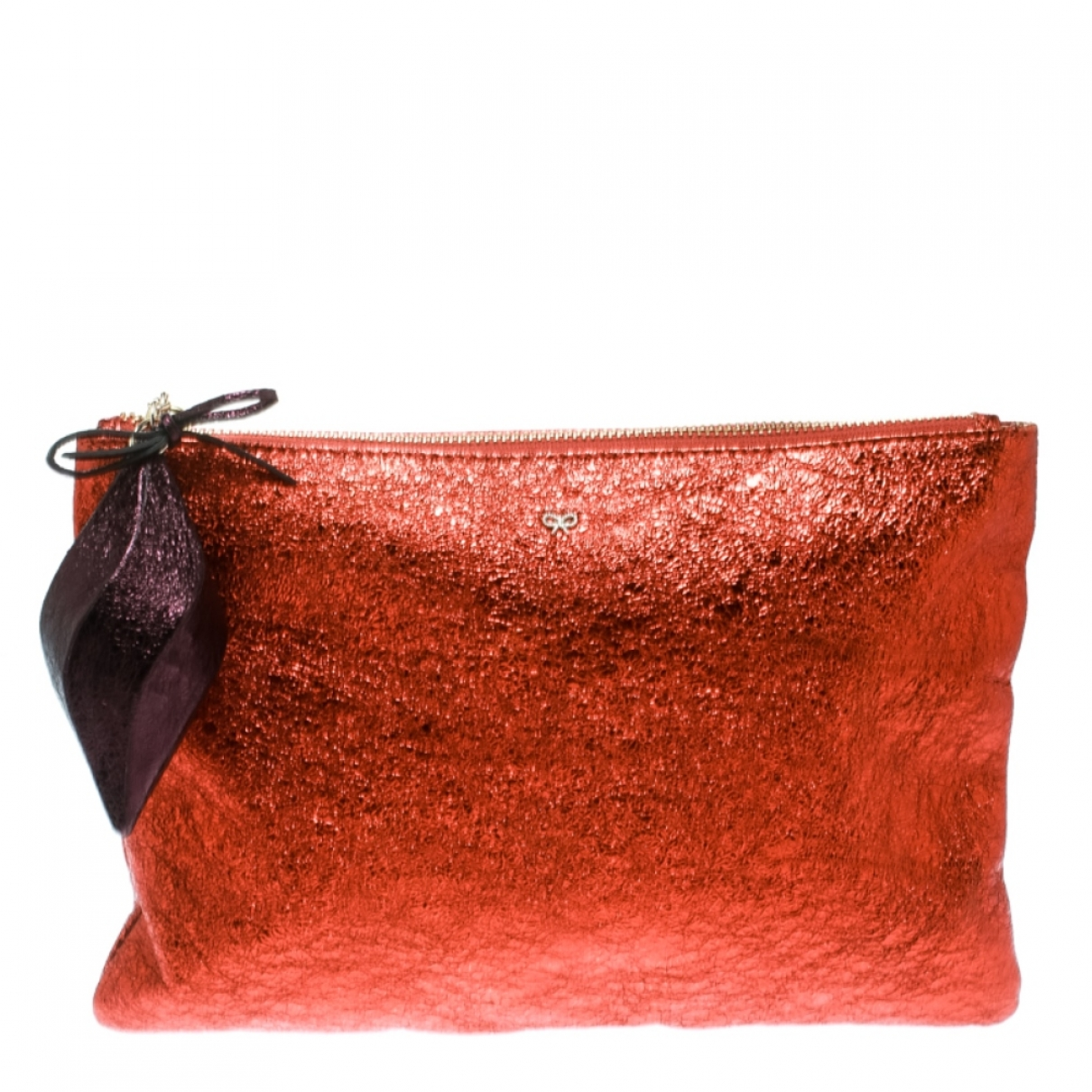 Anya Hindmarch \N Metallic Cloth Clutch bag for Women \N