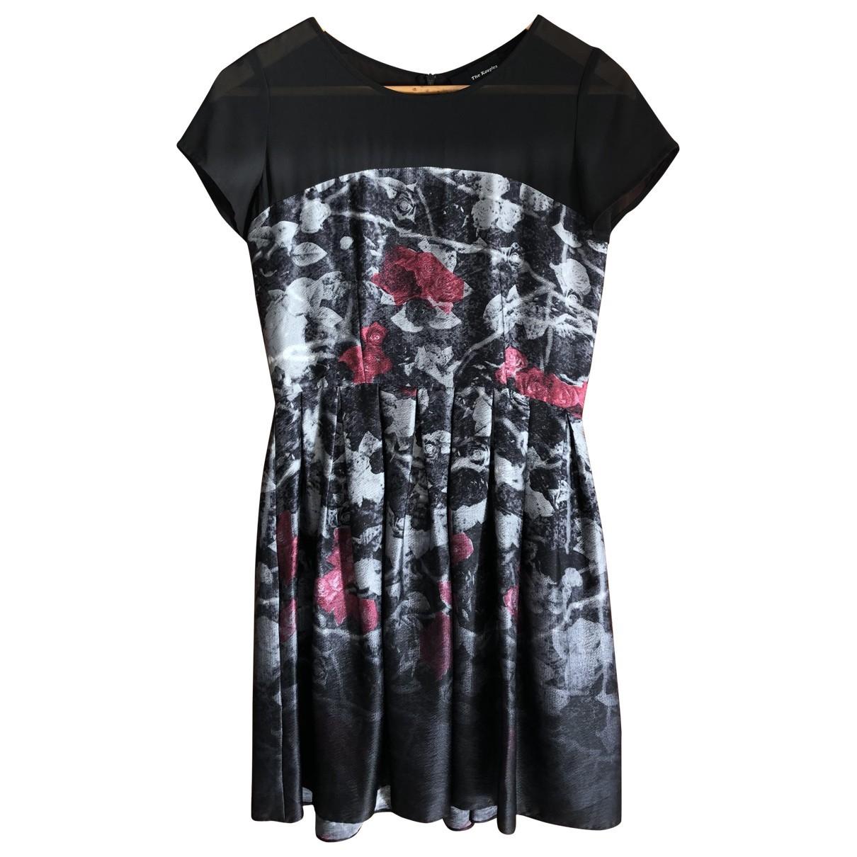 The Kooples Fall Winter 2019 Kleid in  Schwarz Polyester
