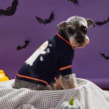 Jersey de perro de halloween