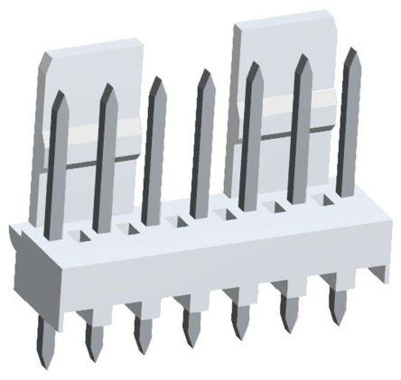 Molex , Mini-Latch, 5045, 7 Way, 1 Row, Straight PCB Header (5)