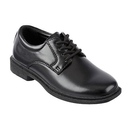 Stacy Adams Lil Austin Boys Plain Toe Oxfords - Toddler, 9 Medium, Black