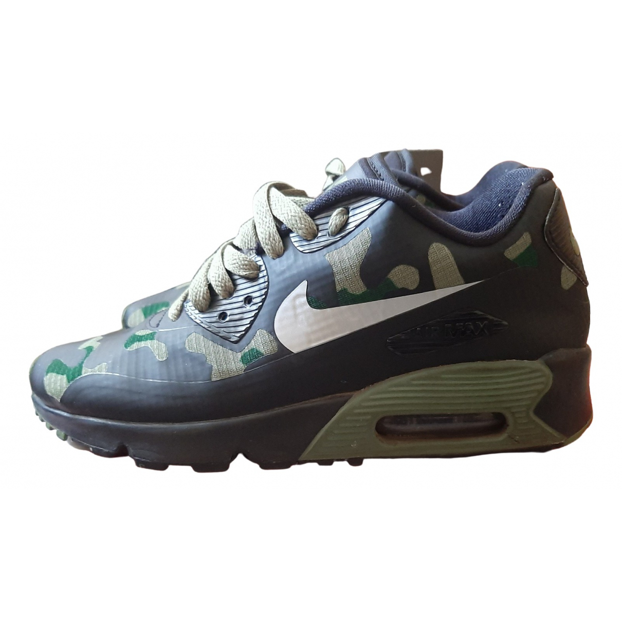 Nike Air Max 90 Multicolour Cloth Trainers for Women 4 UK