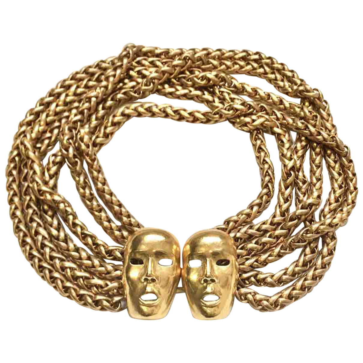 Isabel Canovas \N Gold Metal necklace for Women \N