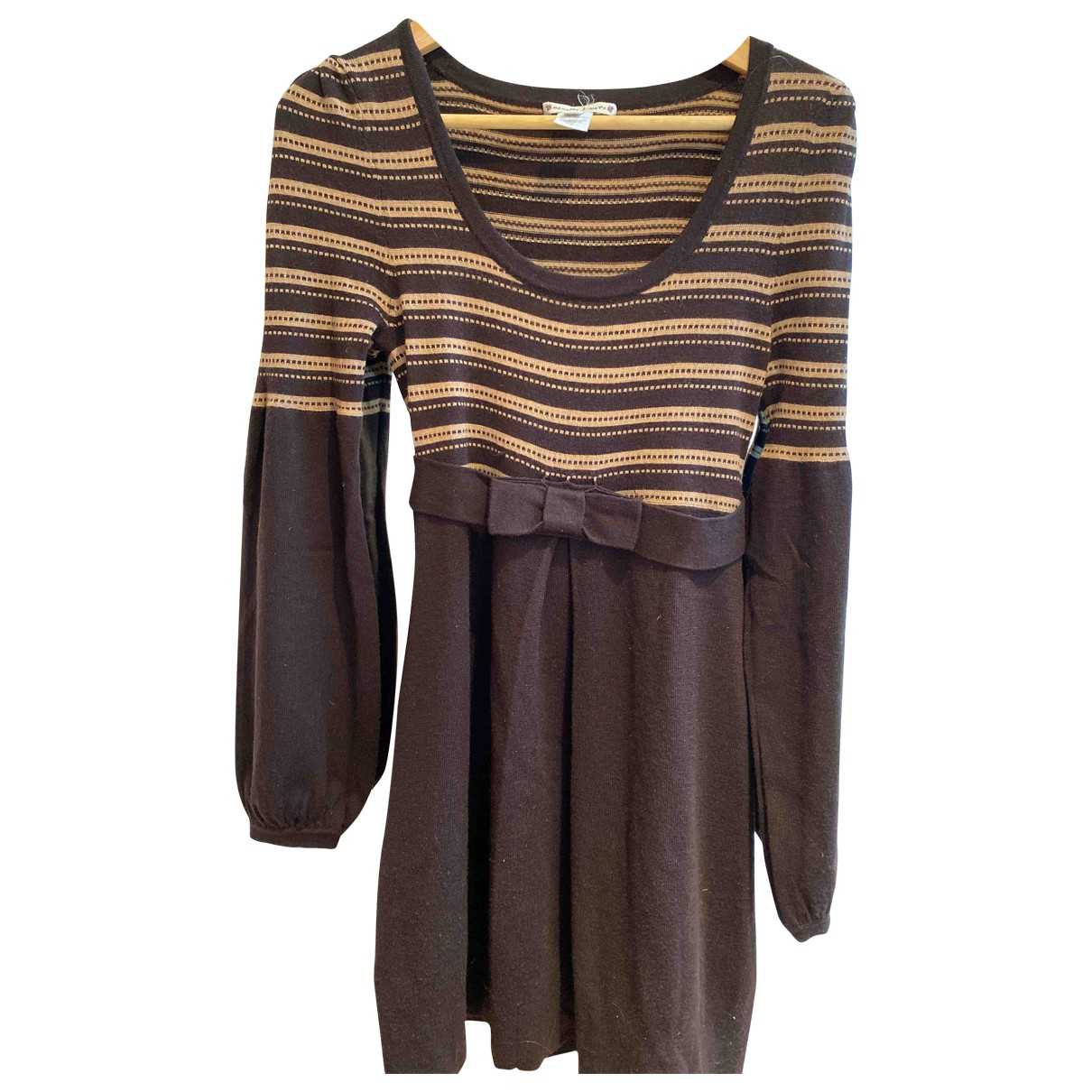 Nanette Lepore N Brown Wool dress for Women S International