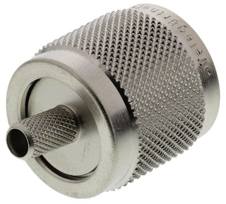 Telegartner Straight Cable Mount Coaxial Connector, Plug, Crimp Termination, RG58 C/U