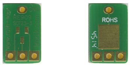 Roth Elektronik RE909, Double Sided Extender Board Adapter Adapter With Adaption Circuit Board FR4 13.02 x 8.25 x 1.5mm