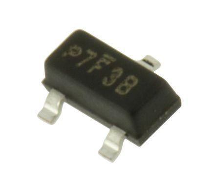Vishay , 3.3V Zener Diode ±5% 350 mW SMT 3-Pin SOT-23 (250)