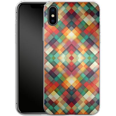 Apple iPhone X Silikon Handyhuelle - Time Between von Danny Ivan